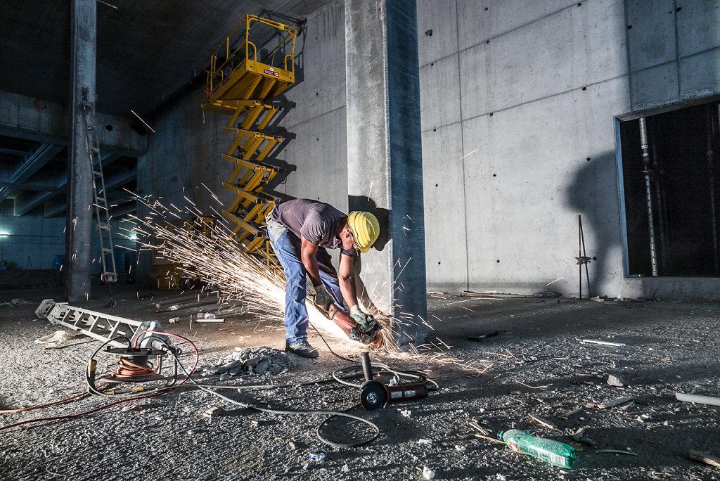 Baustelle, Coop Schafisheim - Im Auftrag: Grundlicht GmbH